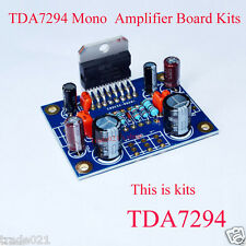 TDA7294 mono audio power amp amplificateur board kits dual dc 40V 80W 20Hz-20KHz