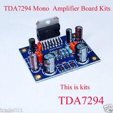 TDA7294 Mono Audio Power Amp Amplifier Board Kits Dual DC 40V 80W 20Hz-20KHz