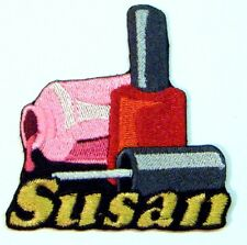 Iron-on Nail Polish Patch With Name Personalized Free