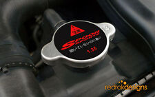 Spoon Sports Radiator cap STICKER - Honda, Civic, Type D, JDM, Integra