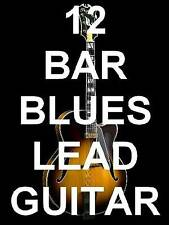 12 Bar Blues Lead Guitar Lessons DVD Rock A Must Have! The Root Of All Music!