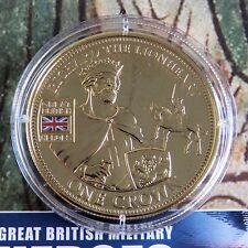 2010 Riccardo Cuor di Leone Britannico Militare EROI PMS Oro a strati prova Crown-COA