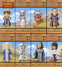 WCF VOL.15 ONE PIECE SET OF 8 BANPRESTO ONE PIECE G-16840 4983164473810