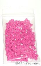 Lego FLOWER EDGE 1x1 PLATE ROUND, Dark Pink 33291 Lot of 50, New