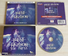 RARE CD AUDIO DOCUMENTARY + LIVRE 98 PAGES TRENT REZNOR BY PAUL BROMFIELD