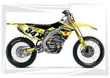 2007 2008 2009 SUZUKI RMZ 250 DIRT BIKE GRAPHICS KIT MOTOCROSS DECAL MX