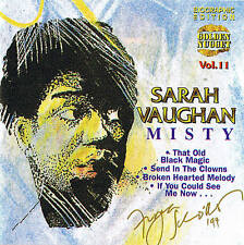 "SARAH VAUGHAN ""Misty"" Jazz CD NEU & OVP 13 Tracks Cosmus DSB"