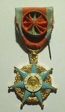 DECORATION - medaille MERITE SOCIAL OFFICIER (4764J)
