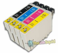 4 T0551-4/T0556 'Duck' Compatible Non-OEM Ink Cartridges for Epson Stylus RX520