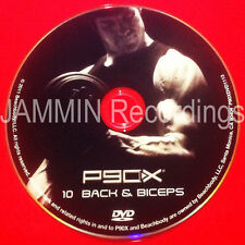 P90X - DVD 10 - DISC 10 - BACK & BICEPS - OFFICIAL RELEASE - BRAND NEW