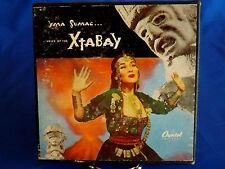 "Yma Sumac & Les Baxter "" Voice of the Xtabay"" 4 Record Set 45 RPM Boxed Set"