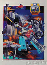 Gobots Nestle Quik Poster Vintage 1985 Tonka Go Bots Promo 14x19 CyKill Leader-1
