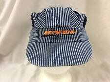 trucker hat baseball cap BNSF Railroad Transportation retro child's size rave