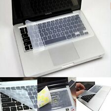 Universal Soft Silicone Clear Keyboard Cover Skin Protector For Laptop 11 13 15""