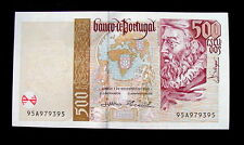 2000 PORTUGAL Banknote 500 escudos  UNC FDS GEM HIGH QUALITY CONSECUTIVE