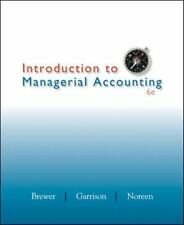 Introduction to Managerial Accounting-ExLibrary