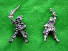 Warhammer Elfos Oscuros fría Riders X2 Pintado