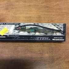 MEGABASS ITO VISION ONE TEN 110 JERKBAIT -----GG DEADLY BLACK SHAD OB
