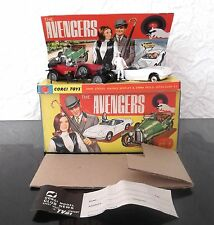 Original Corgi Gift Set 40 The Avengers inc Bentley, Lotus Elan, & 2 Figures
