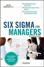 Six Sigma for Managers by Greg Brue (2015, Paperback)