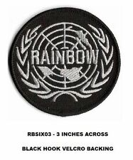 RAINBOW SIX - 3 INCH VEL-KRO PATCH - RBSIX03
