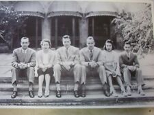 EDSEL FORD FAMILY PHOTO WITH WIFE AN KIDS   12 X 18  PHOTO  PICTURE
