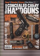 WORLD OF FIREPOWER CONCEALED CARRY HANDGUNS MAGAZINE FALL 2016.