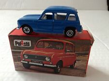 Polistil Renault 4 Italy 1977 Mint Boxed
