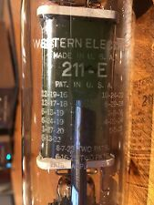 1 NOS WESTERN ELECTRIC 211E METAL BASE TUBE