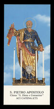 santino-holy card*S.PIETRO AP.-ACI CATENA