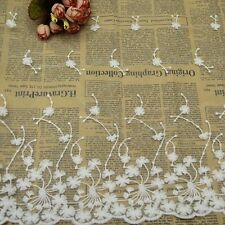 1 Yard Lace Trims Fashion Embroidered Dandelion Tulle Trimmings Dress Decoration