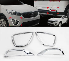 Chrome Fog Lamp Molding Trim Garnish 4p For 2016 Kia Sorento : ALL NEW SORENTO