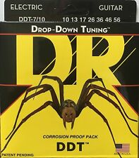 DR DDT-7/10 Electric Guitar Strings drop down tuning 7-String set 10-56