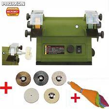 PROXXON Schleifmaschine Poliermaschine Poliergerät Polierer SP/E + Polierset