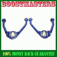 For 09-13 370Z Coupe chassis Z34  Convertible BLUE ADJ Front Camber Upper Arm