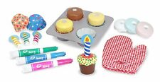 Melissa and Doug Bake and Decorate Cupcake Set , New, Free Shipping