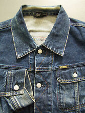 Diesel Gregg Denim Jacket Men's XL Extra Large Blue Wash 00792 Vintage LJKTz979