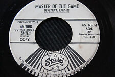 "ARTHUR SMITH 45rpm ""Master of the Game"" & ""Travelin Blues"" Starday Records"