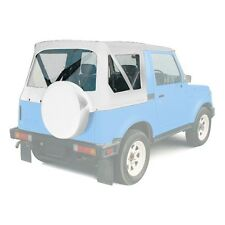 1986-1994 Suzuki Samurai Replacement Soft Top with Rear Clear Windows White