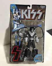 Rare KISS ACE FREHLEY McFarlane Toys Ultra-Action Figure -1997 Guitar Space Sled