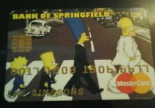 The Simpsons  novelty credit card credit cruncher