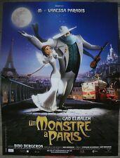 UN MONSTRE A PARIS Affiche Cinéma / Movie Poster 53x40 Vanessa Paradis