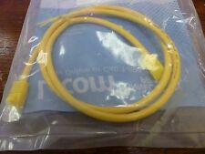 L-Com  TRD855Y-3  Yellow  Cat 5 Patch Cable  3ft   Lot of 4
