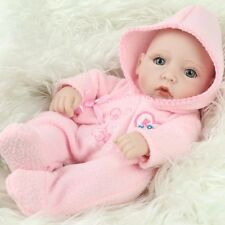 "10"" Baby Dolls Girl Soft Vinyl Real Life Like Baby Doll Kids Birthday Gift"