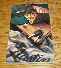Original 1992 Saturn SL1 SL2 SC Deluxe Sales Brochure 92