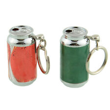 Cans Can Cigarette Cigar Smoking Lighter Creative Mini Coca Shaped Keychain