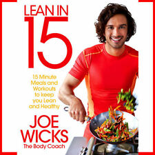 Lean in 15 by Joe Wicks The Body Coach Meals Workouts Lean and Healthy Book NEW