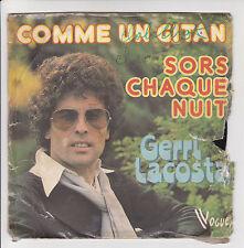 """Gerri LACOSTA Vinyle 45T 7"""" SP COMME UN GITAN -VOGUE 107-45.VB.150 F Rèduit RARE"""