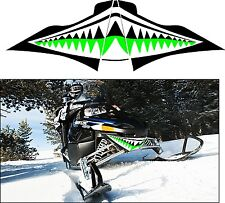 ARCTIC CAT Z1 570 F5 8 SNO PRO LXR BEARCAT TURBO SHARK TEETH JAWS  DECAL STICKER
