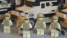 Armor AV-14 Infantry Recon Vehicle Set 5 Army minifigure Soldiers Lego parts Set
